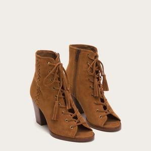 Frye Dani Whipstitch Lace Boot